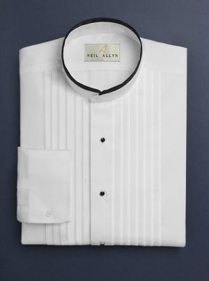 a0bae02b3ac Mandarin Collar Dress Shirt