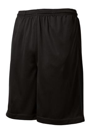 Sport Tek Posicharge Tough Mesh Pocket Short Ictus Limited Uv50+ sportek performance jersey for tops and shorts. ictus limited